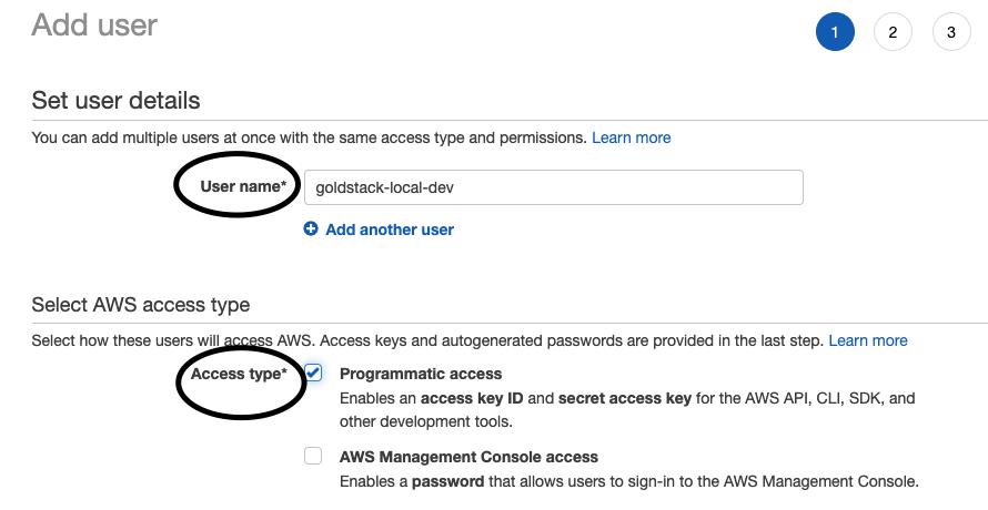 Provide user details